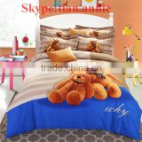 100% cotton reactive printting bed sheet set bed sheet egyption cotton bedding bedding set home sense bedding
