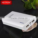 dual usb power bank 7800mah gb t18287-2000 for samsung galaxy battery