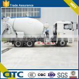2016 hot selling semi-trailer cement mixer with plastic mudguards for truck