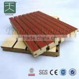 E0 E1 formaldehyde free eco green melamine mdf groove boards melamine for Wall and Ceiling