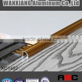 aluminium flooring profile Edge trim tile trim anodize gold-XD1482