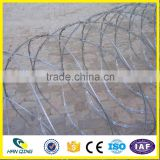 FACTORY WHOLESALE HOT DIPPED RAZOR BARBED WIRE ELECTRIC RAZOR BARBED WIRE MESH