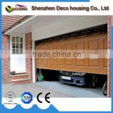 China supplier polyurethane/PU foam insulated automatic sectional galvanized steel garage door