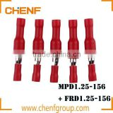 Cheaper MPD1.25-156 Assorted Crimp Terminals kits Set Wire Connector Wire terminator insulated female male terminal