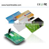 hot sale bulk custom logo credit card usb flash drive