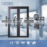 2016 top supplier tansive construction shanghai factory wholesale double glazed aluminum profile glass sliding door