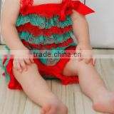 chirstmas santa romper birthday romper for baby