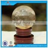 Nature personalized quartz crystal ball decoration sphere                                                                                                         Supplier's Choice