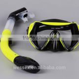 Hot selling professional scuba diving mask and diving snorkel                                                                         Quality Choice