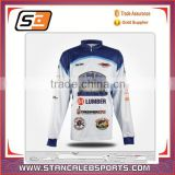 stan caleb OEM wholesale custom any logo color style dri fit long sleeve fishing jersey for man