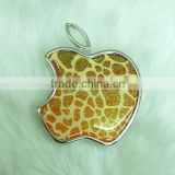 Professional apple shape makeup mirror/custom apple cosmetic mirror