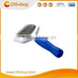 Chi-buy Dog Long Hair Slicker Brush with Shedding Rake Comb, Size: XS:155*75*42mm/ S:160*78*42mm/L: 190*105.5*55mm