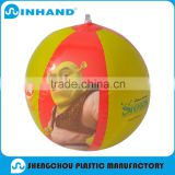 2016Wholesale High Quality Promotion Best Quality Logo Printed Eco-friendly Inflatable Giant Beach ball