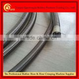 China manufacturer! PTFE steel wire ss304 braided teflon hose of high quality at competitive price!