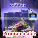 Full Spectrum 40*3W Dimmable LED Aquarium Grow Light FishTank Reef Coral LPS SPS LED Lighting Sunrise Sunset
