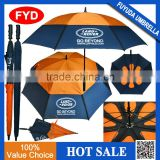 promotional double layer golf air umbrella for sale