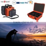 Hard plastic handheld SLR cameras implement storage cases in the open air with IP67 waterproof RC-PS 290/1
