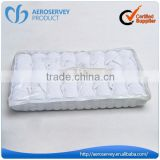 Disposable 100% cotton hand towel for airline traveling use