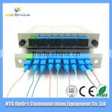 1x8 bare fiber plc splitter for protect solution