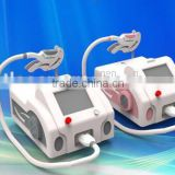 3 capacitance big power SHR/E-light hair removal machine can change different handle have good result