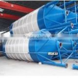 Low investment top quality 50/100 tons cement bunker/bin/silo for contruction block machine or electric pole