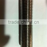 China high quality duplex steel 2507/S32750 stainless steel full thread bolt DIN975 threaded rod