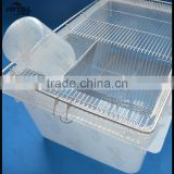 Stainless steel Mouse lab rodent breeding cage