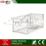 Easily and effectively weatherproof safe mouse trap cage