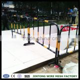 galvanized temporary construction fence,heavy duty control barriers,construction safety barricade