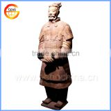 ancient bronze statues souvenir for clay warrior sale