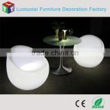 led bar furniture RGBW color change modern lounge led sofa/led chair