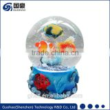 Sea Souvenir Fish Snow Globe