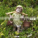 christmas garden statue decorations fiberglass garden child statue