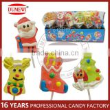 24 Count Christmas Cartoon Candy Jelly Lollipop