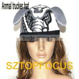 China Factory Wholesale Elephant New Style Trucker Hat and Cap