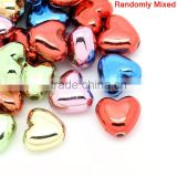 Valentines Gift Christmas Heart At Random Acrylic Charm DIY Beads