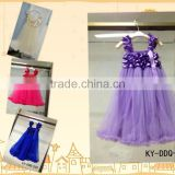 High quality wholesale Upscale girls princess dress,ruffle cute dress,veil baby girls highest dress MC6030201