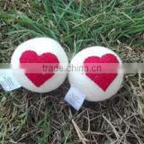 Eco friendly handmade felt dryer balls/ Hot selling color design organic felt dryer ball/Nepal hand made felt dryer balls
