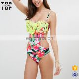 2017 trending products sexy swimwear for women beach wear ladies with tassels