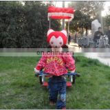 2015 New model Cartoon robot rickshaw with mustic and timer