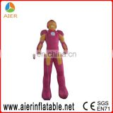 inflatable Iron Man model