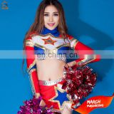 Hot latest design wholesale sublimated Cheerleader Uniform