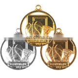Custom sports metal basketball gold medals