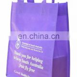 custom good quality new year promotion tote shopping bag
