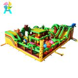 Giant portable Forest inflatable bounce outdoor playground equipment