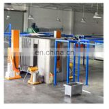 Automatic powder coating booth for aluminium profiles 8