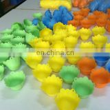 Environmentally friendly silicone egg cooker with flower shape for non-toxic and high temperature resistant