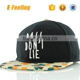 Custom Embroidery Snapback Hat Embroidery Snapback Cap