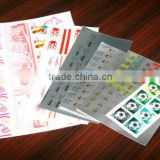 hot sale Hologram custom scratch off lottery tickets in Lianlong brand