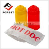 Custom paper bag printing take away fast food paper bag                                                                         Quality Choice